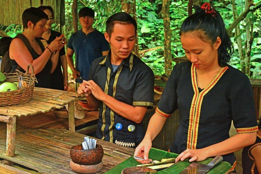 Mari Mari Cultural Village near Kota Kinabalu, Malaysia