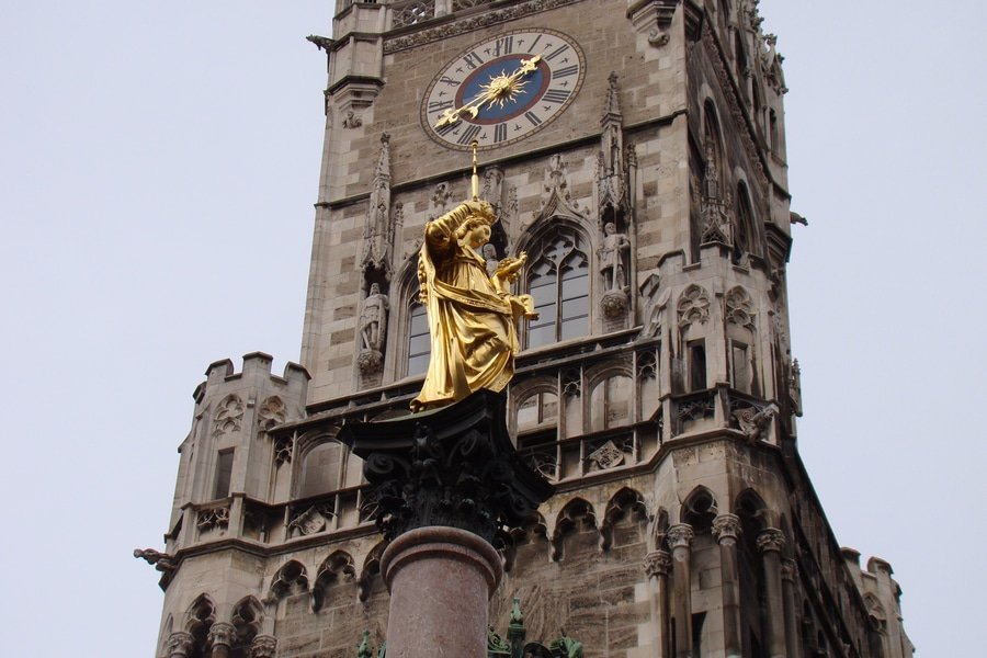Mariensäule, Munich, Germany