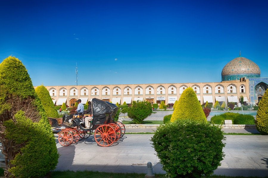 Naqsh-e-Jahan Square. Isfahan, Iran