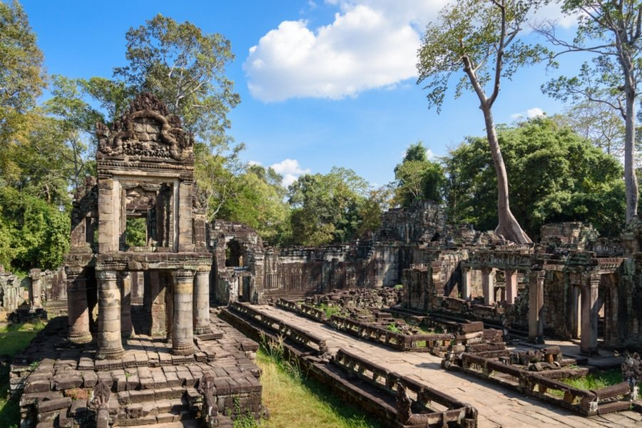 Prasat Preah Khan, Siem Reap, Cambodia