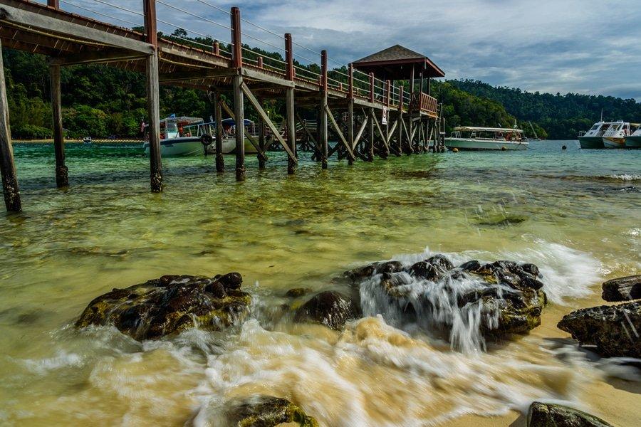 Sapi Island, Tunku Abdul Rahman Park, Malaysia