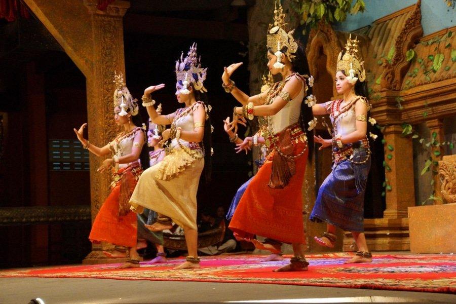 apsara dancers, Siem Reap, Cambodia