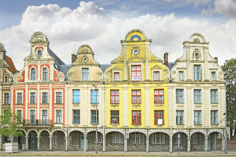 buildings at Grand Place, Arras, France