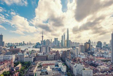 City view, Shanghai, China