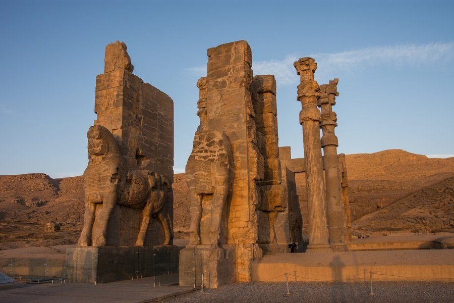 The Gate of All Nations, Persepolis, Iran