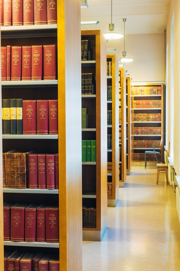 Old Russian books, The National-Library of Finland, Helsinki, Finland
