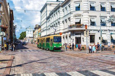 street view, Helsinki, Finland