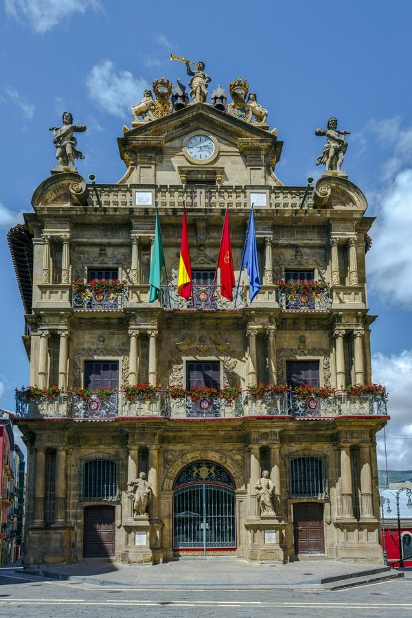 Town Hall, Pamplona-Spain