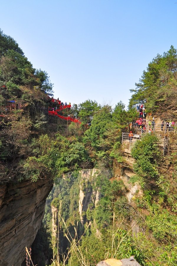 First bridge under Heaven, Yuanjiajie, China