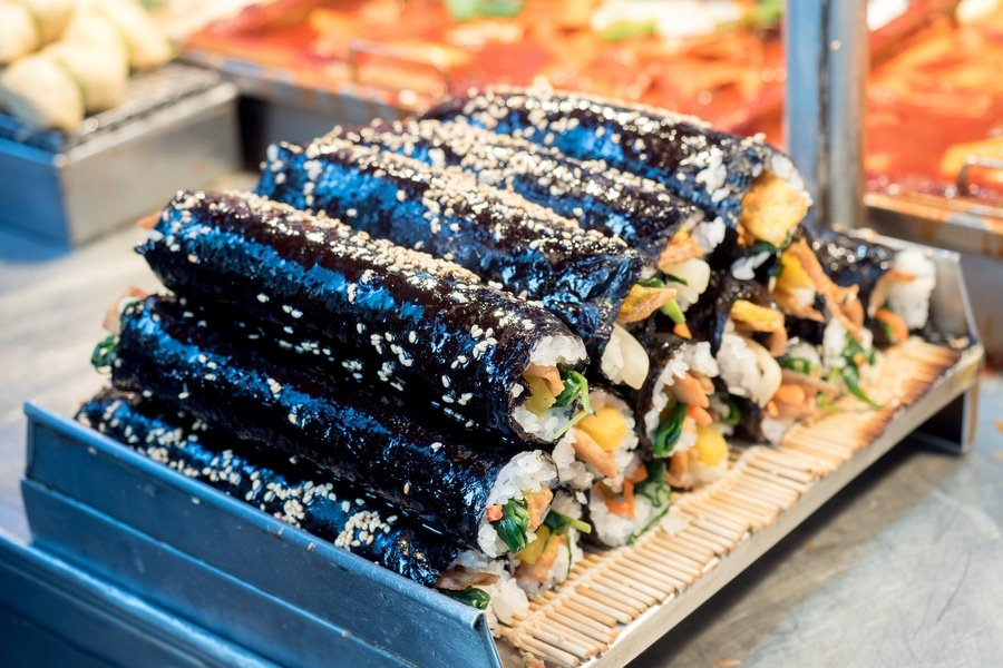 Gimbap, Korean food