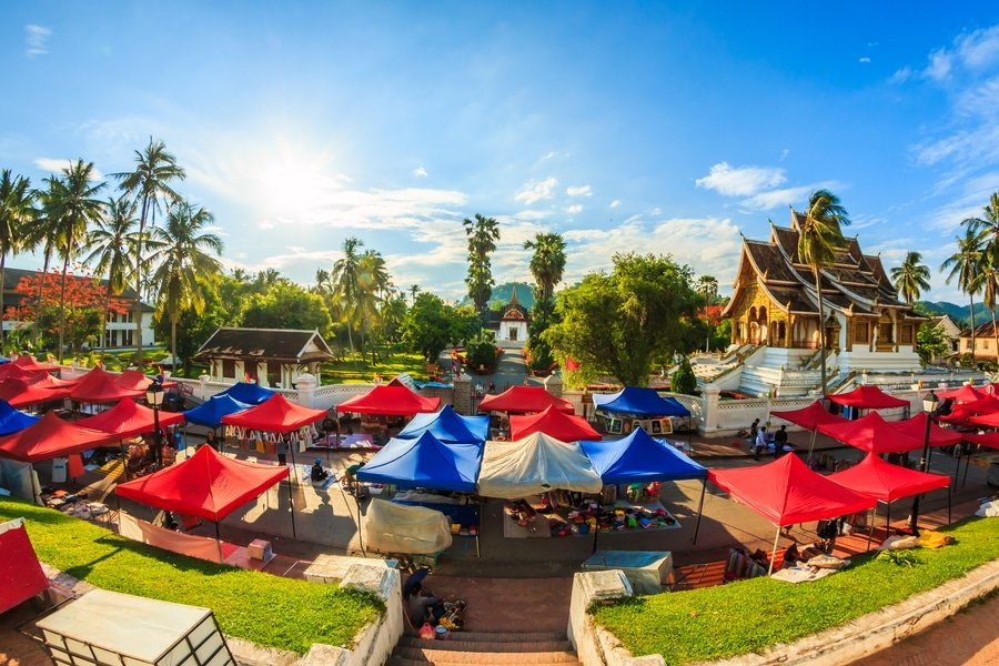 Royal Palace Museum, Luang Prabang Laos
