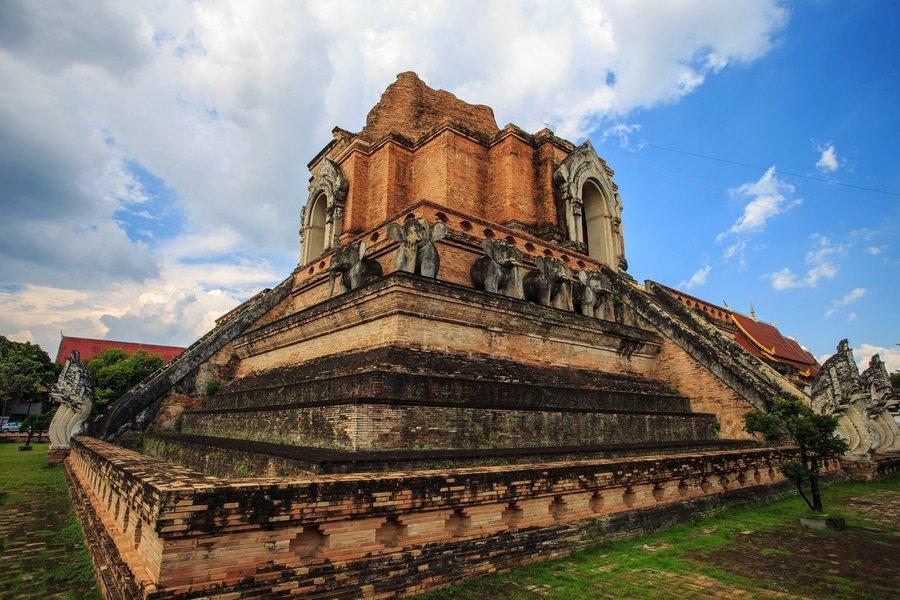 Wat Chedi Luang Varavihara, Chiang Mai, Thailand