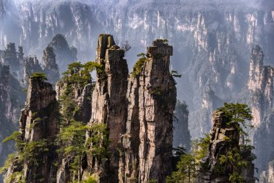 Zhangjiajie National Forest Park, Hunan, China