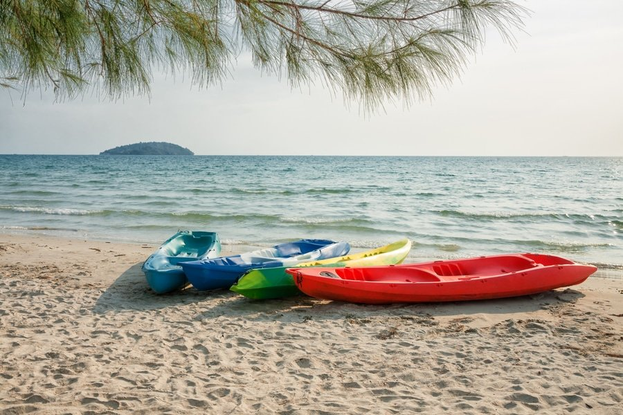 Beach holiday in Sihanoukville, Cambodia