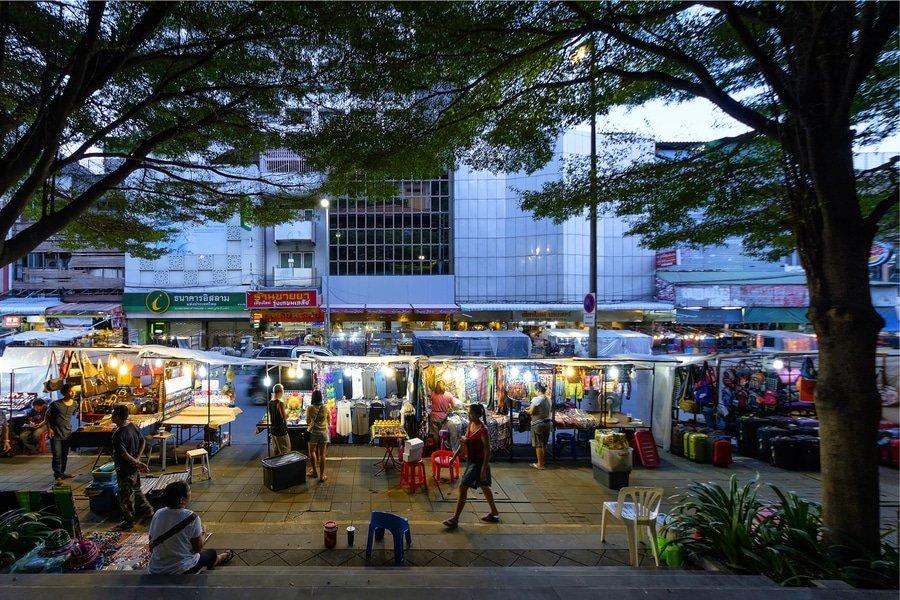 Night Bazzar, Chiang Mai, Thailand
