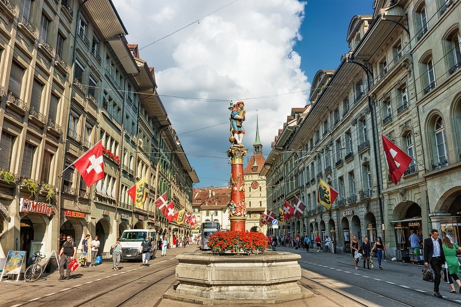 The Piper Fountain, Bern, Switzerland