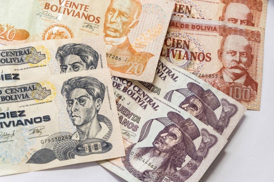 Bolivianos, Bolivian currency bills