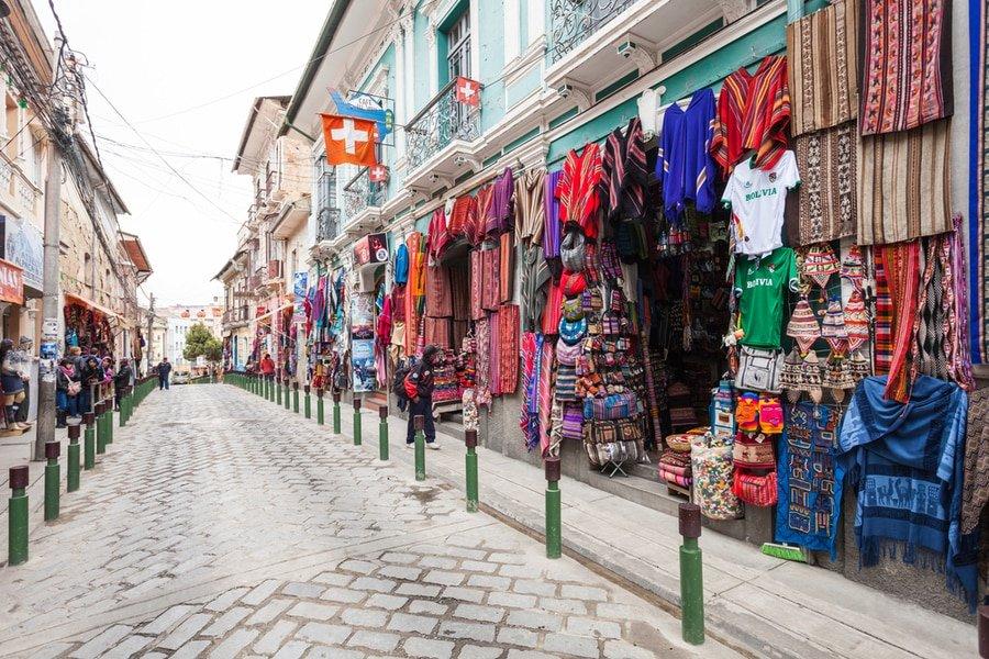 Calle Sagarnaga, La Paz, Bolivia