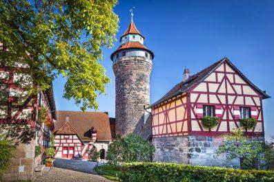 Nuremberg Castle in Nuremberg, Germany