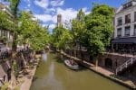 Oudegracht canal, Utrecht, The Netherlands