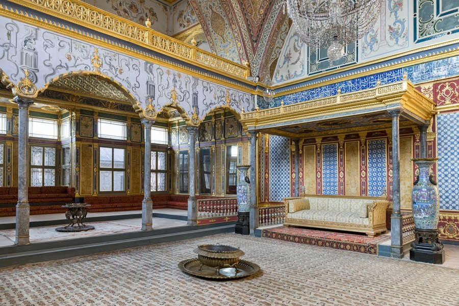 Throne room, Topkapi Palace, Istanbul, Turkey