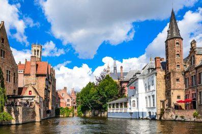 view of Bruges, Belgium