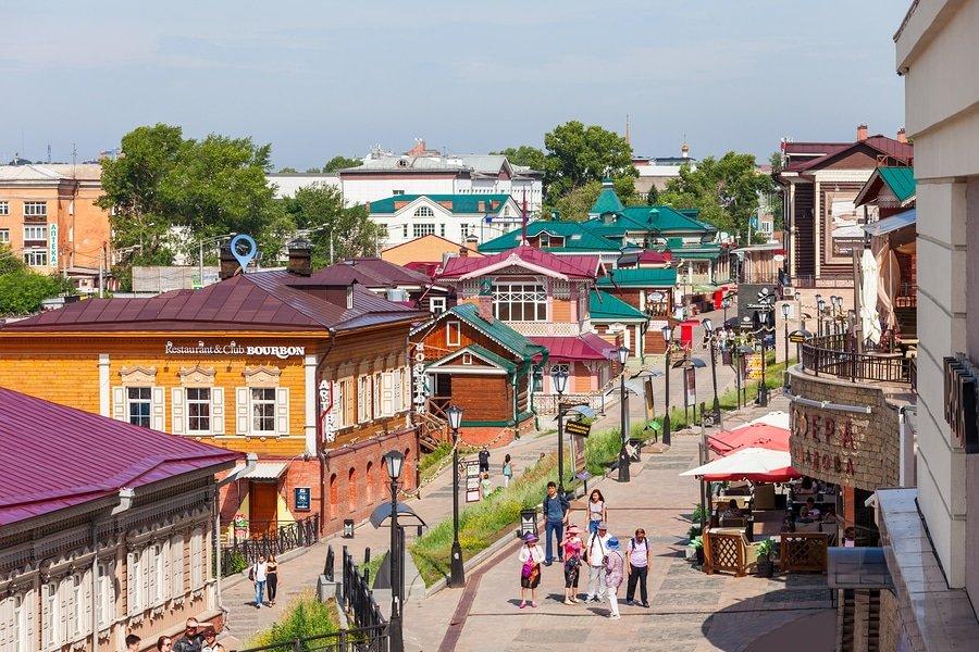 130 Kvartal Quarter, Irkutsk, Russia