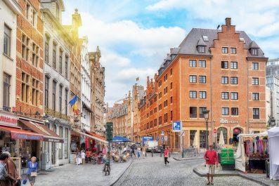 streets of Brussels, Belgium