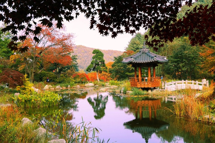 Garden of Morning Calm, South Korea