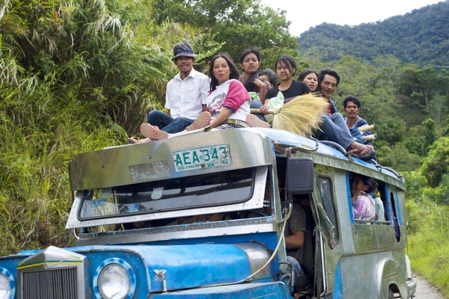 Jeepney, Bontoc, Philippines