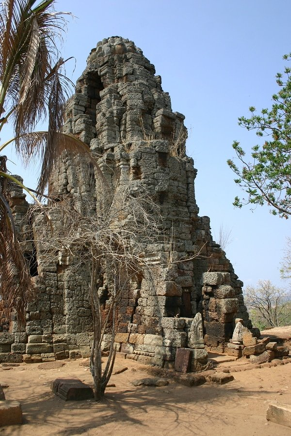 Khmer temple, Battambang, Cambodia