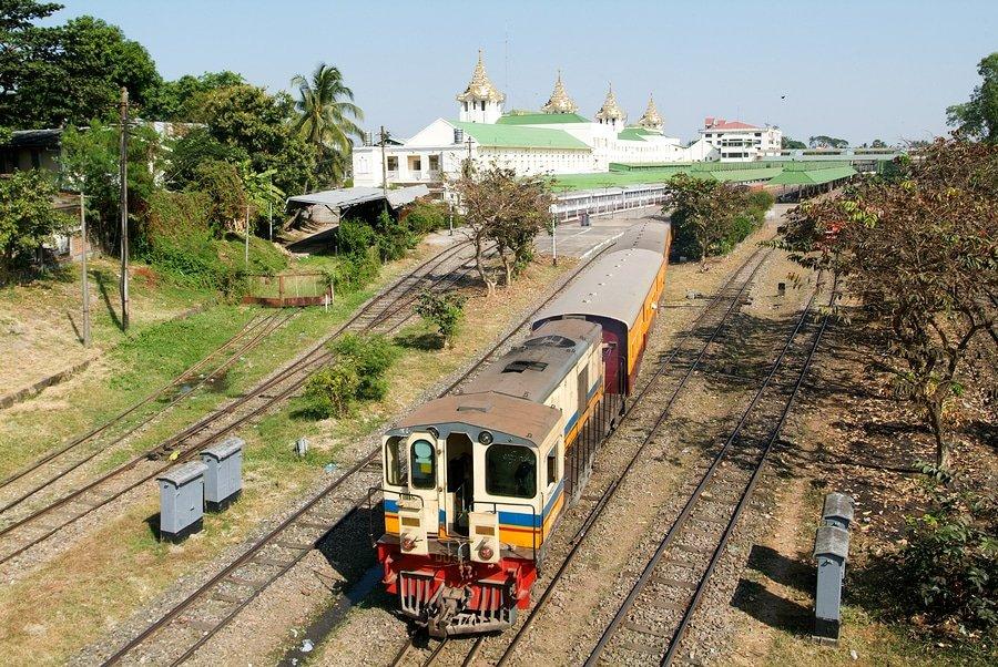 Yangon Circular Train, Yangon, Myanmar