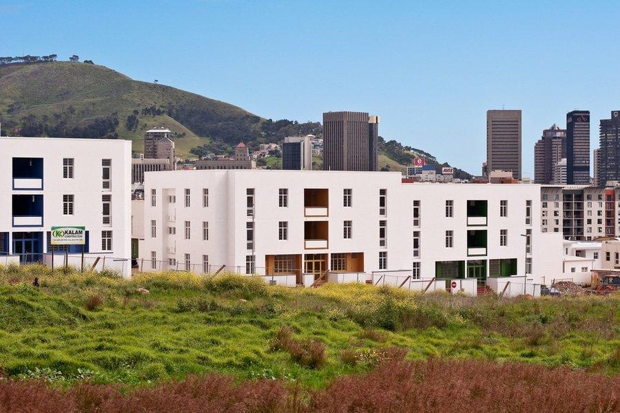 New apartment building takes place in District Six, the site of forced removals and bulldozing of homes during the Apartheid era