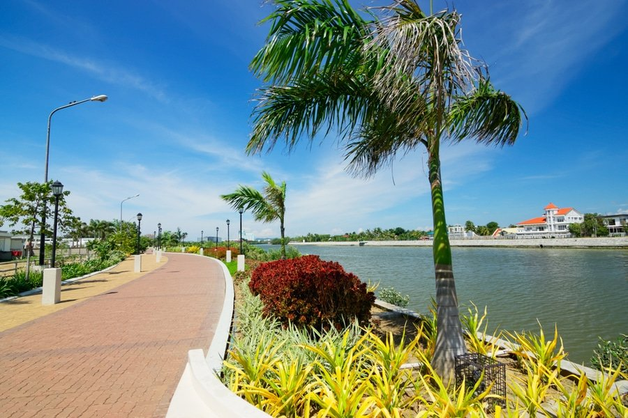 Iloilo River Esplanade, Panay Island, The Philippines