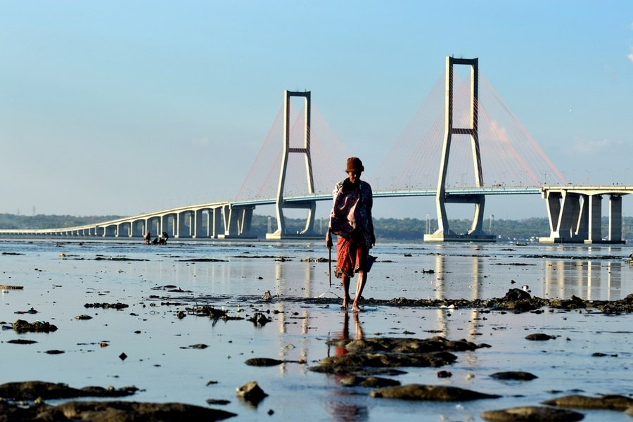 Suramadu bridge, Surabaya, Java, Indonesia