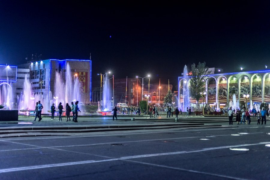 Ala-too Square, Bishkek, Kyrgyzstan