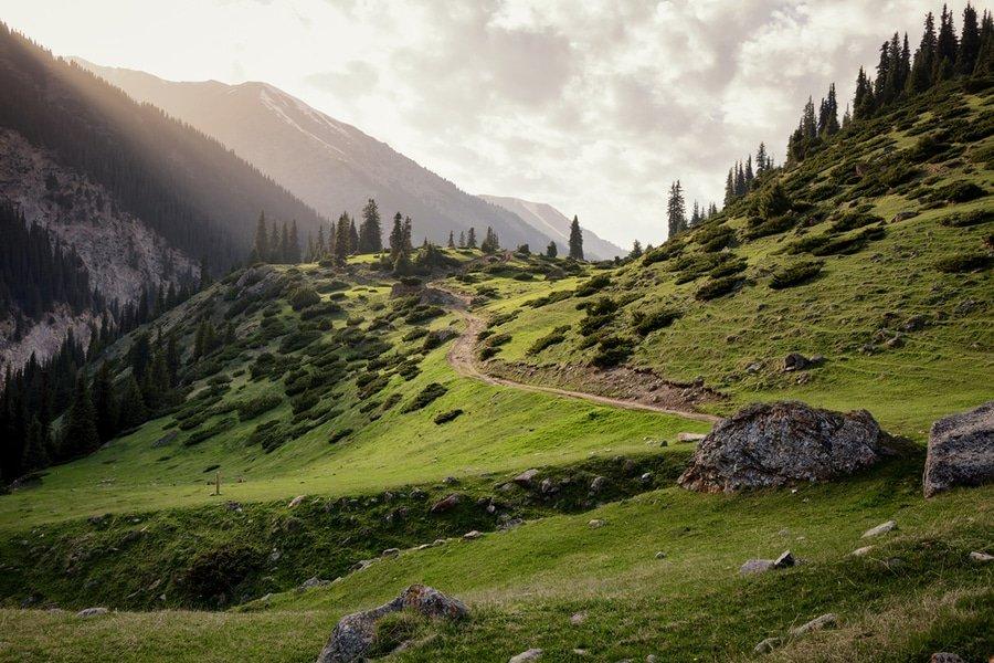 Altyn-Arashan Valley, Tian Shan, Kyrgyzstan