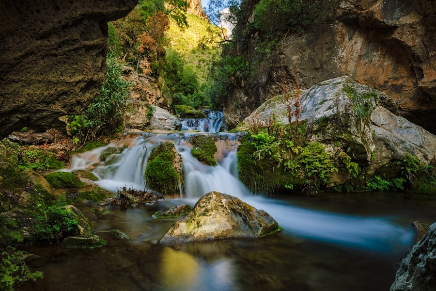 Cascades d'Akchour, Morocco