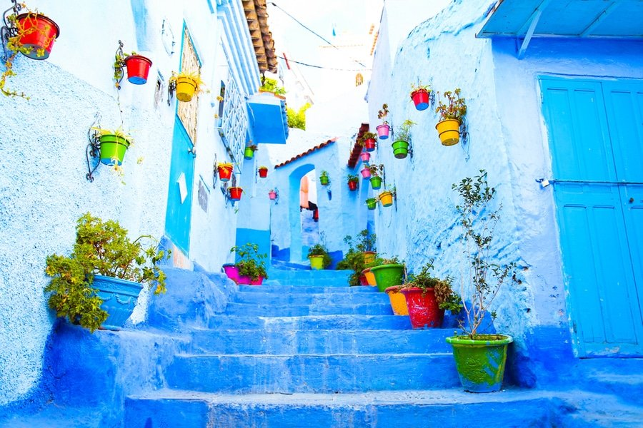 Chefchaouen old town, Morocco