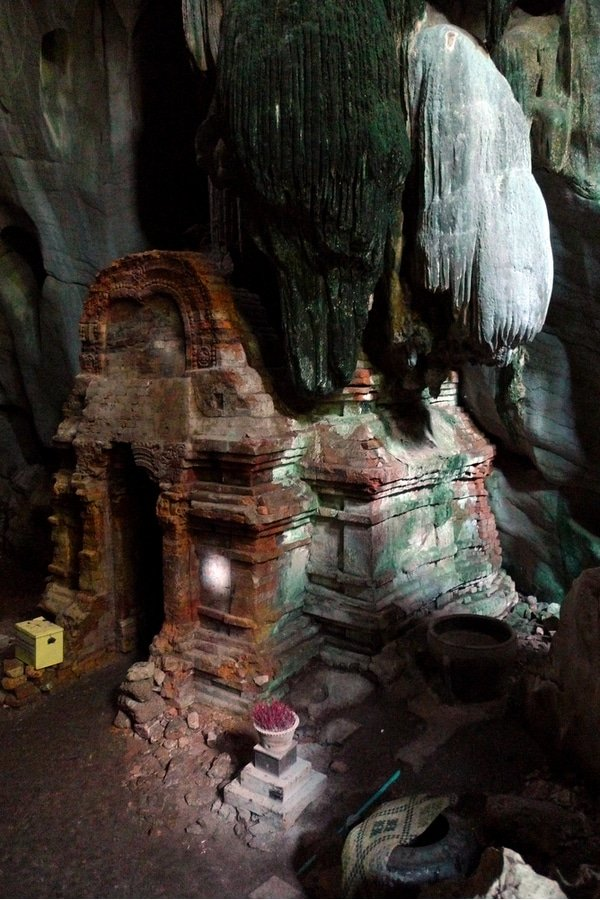 Phnom Chhnork cave temple, Kampot, Cambodia