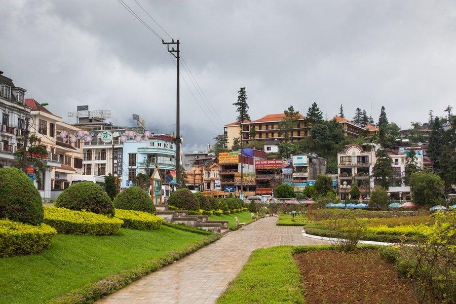 Sapa town, Vietnam