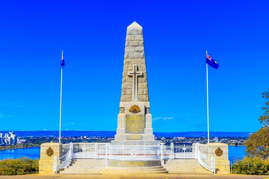 State War Memorial, Kings Park, Perth, Western Australia