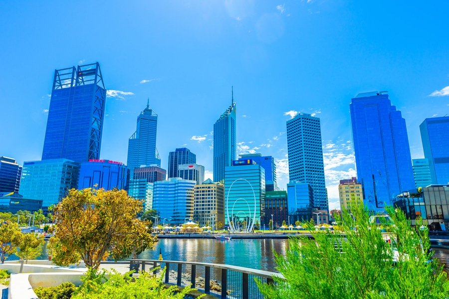 Urban landscape, Perth, Western Australia