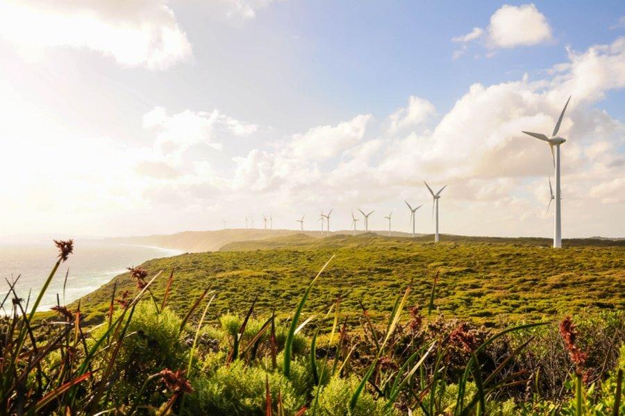 Wind power turbine, Albany, Western Australia