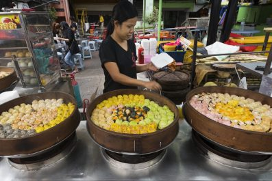 street food, Kuala Lumpur, Malaysia