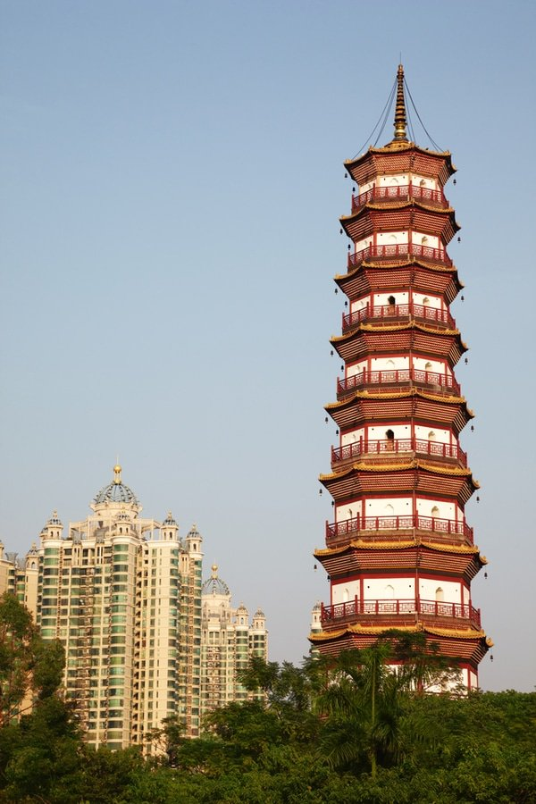 Flower Pagoda, Temple of Six Banyan Trees, Guangzhou, China