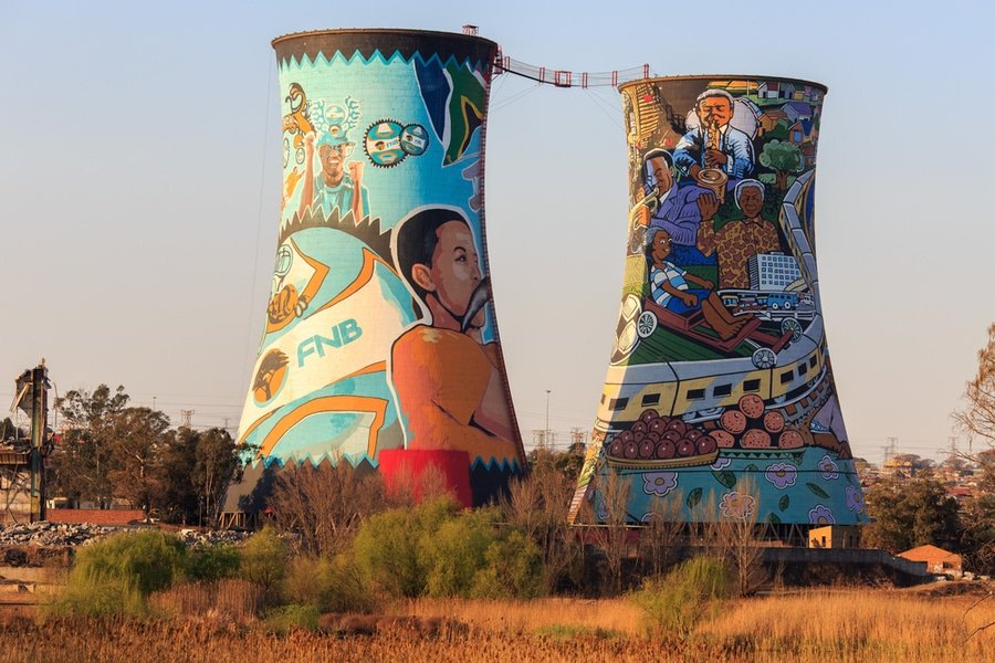 Orlando Towers, Soweto, Johannesburg, South Africa