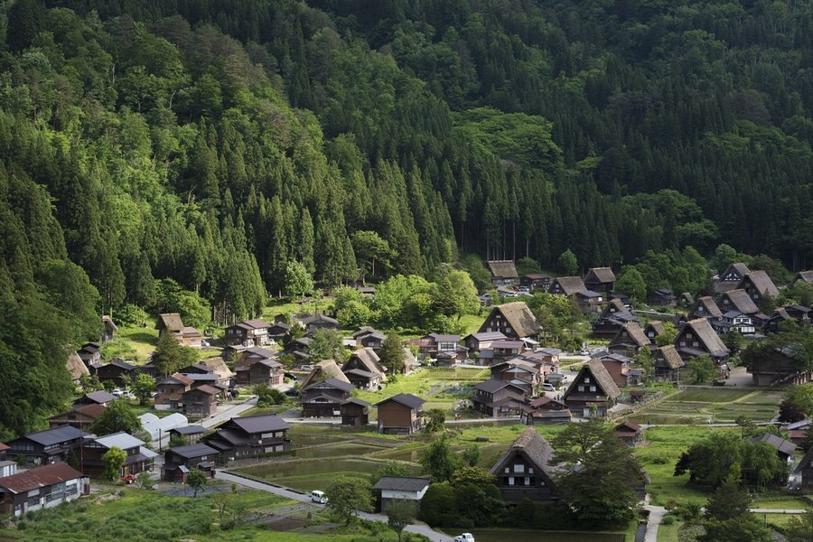 Shirakawa-go, Central Japan