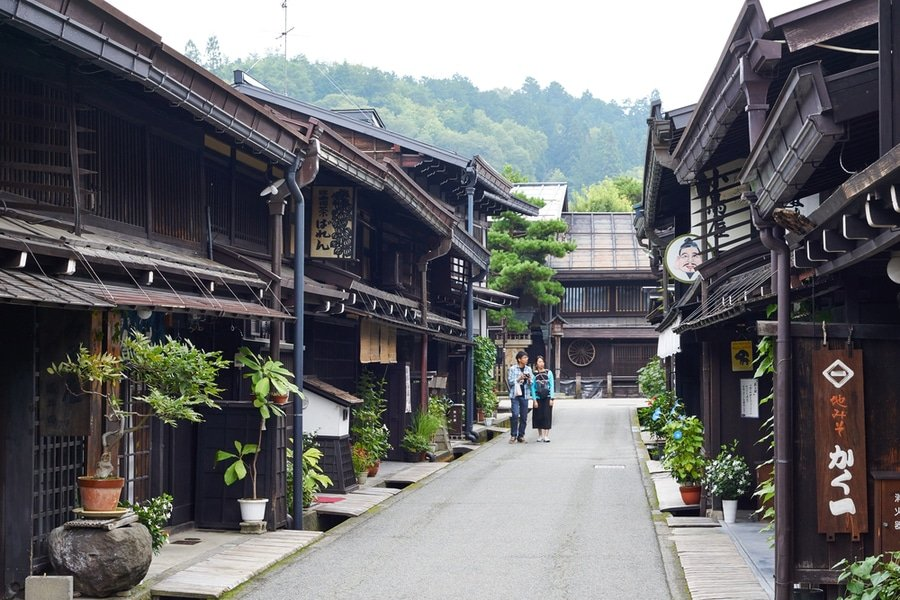 Takayama Old Town, Central Japan