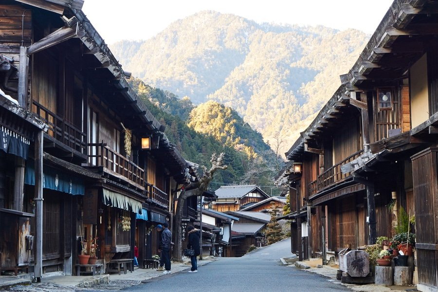 Tsumago village, Japan